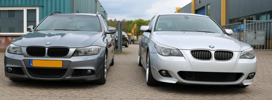 BMW E91 LCI en E60 M-Pakket